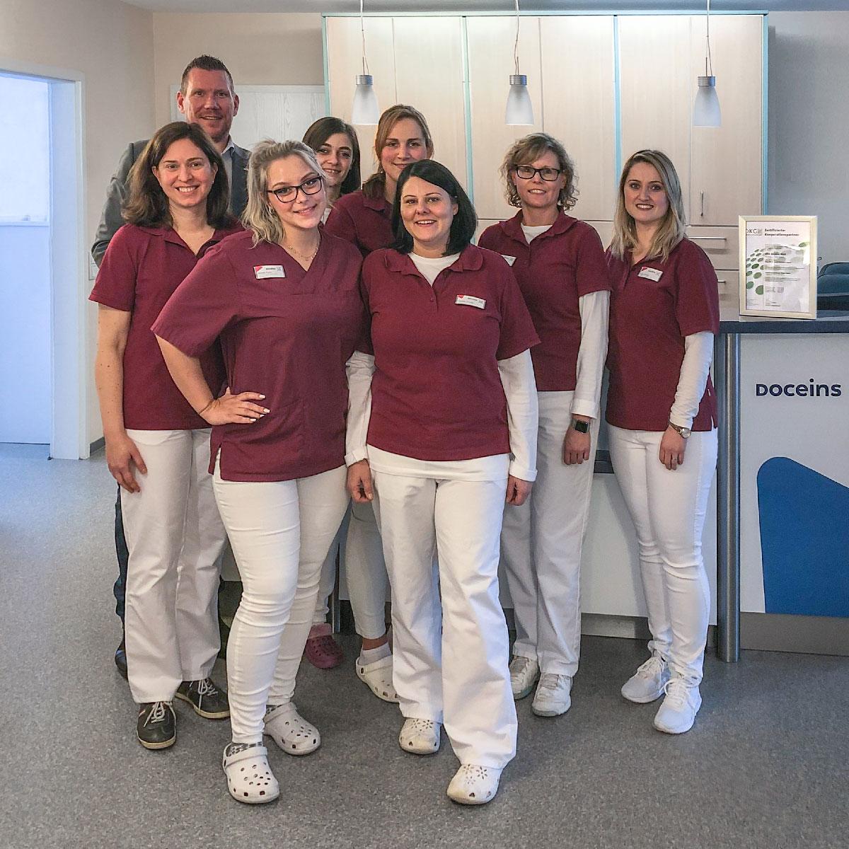 Team der Doceins Dermatologie
