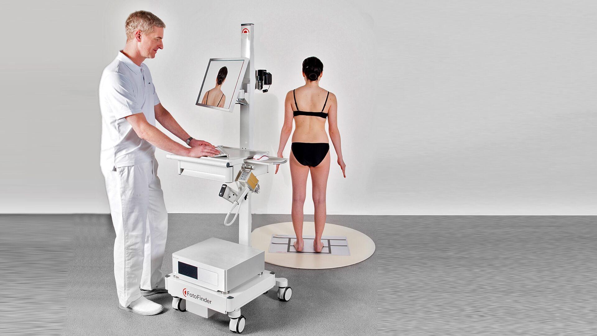Hautkrebsscreening mit Hilfe der Bodymapping-Methode