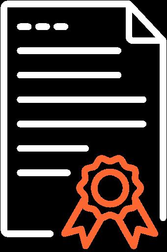 Doceins Icons Qualitätssiegel