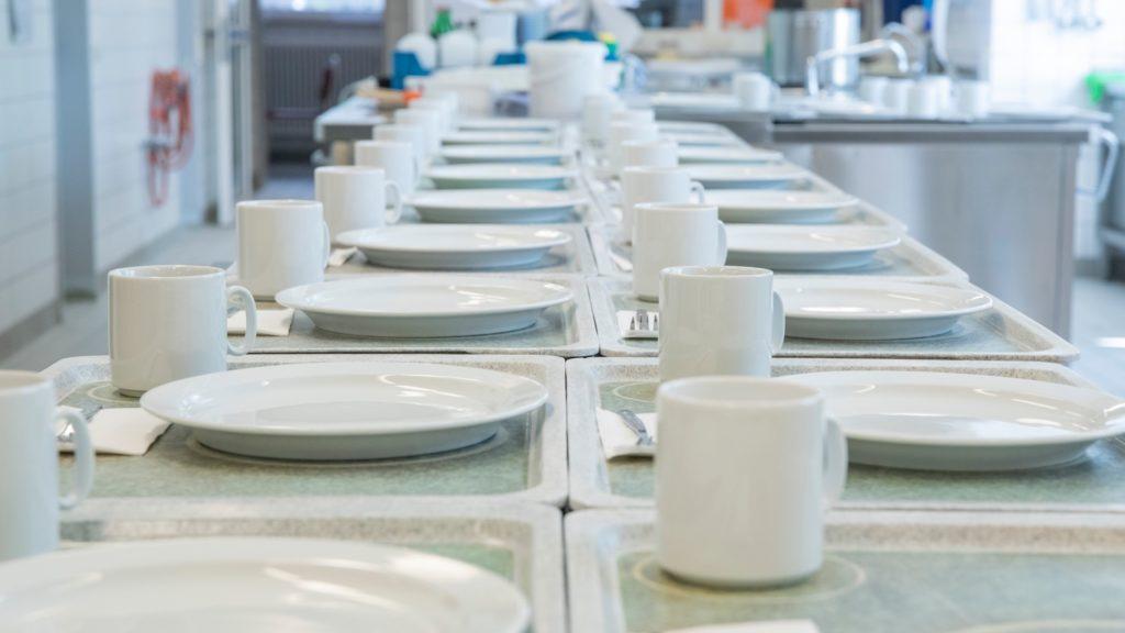 Küche der Lungenklinik Neustadt