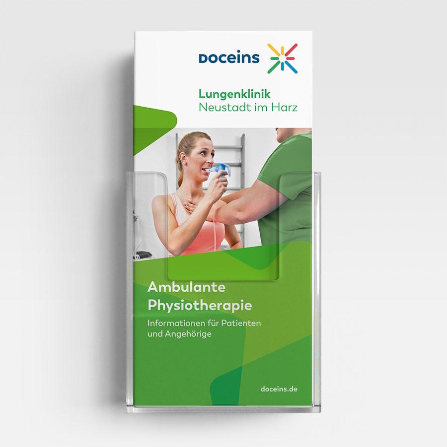 Informationsbroschüre Ambulante Physiotherapie - Informationen für Patienten und Angehörige