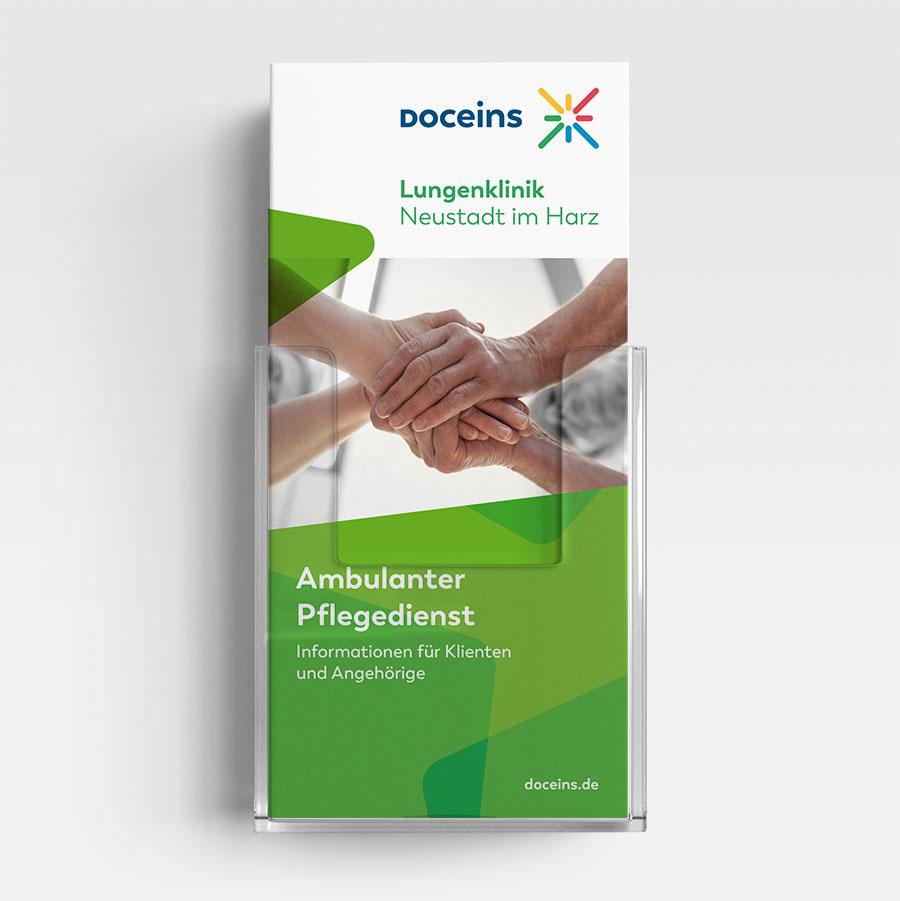 Informationsbroschüre Ambulanter Pflegedienst - Informationen für Klienten und Angehörige