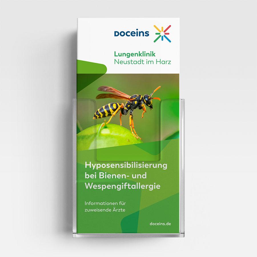 Informationsbroschüre Insektengift Immuntherapie - Informationen für zuweisende Ärzte