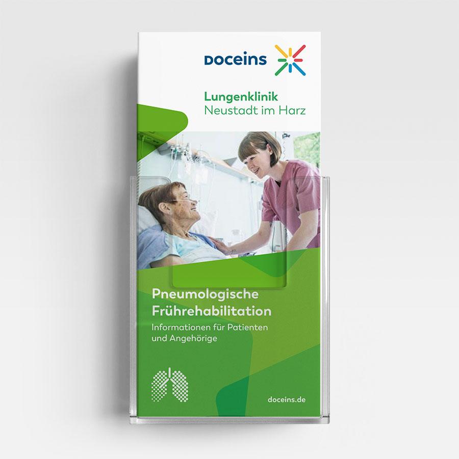 Informationsbroschüre Pneumologische Frührehabilitation - Patienten