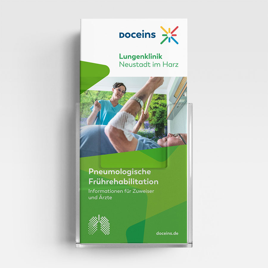 Informationsbroschüre Pneumologische Frührehabilitation - Ärzte und Zuweiser