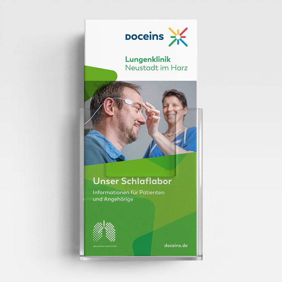 Informationsbroschüre Schlaflabor - Informationen für Patienten und Angehörige
