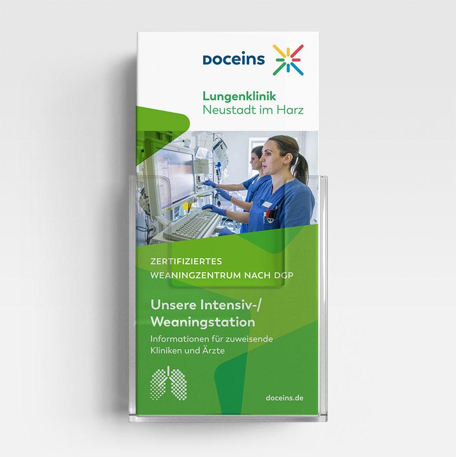 Informationsbroschüre Weaning- und Intensivstation - Informationen für Kliniken und Ärzte